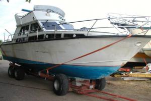 Aluminiumbåt 32ft D6